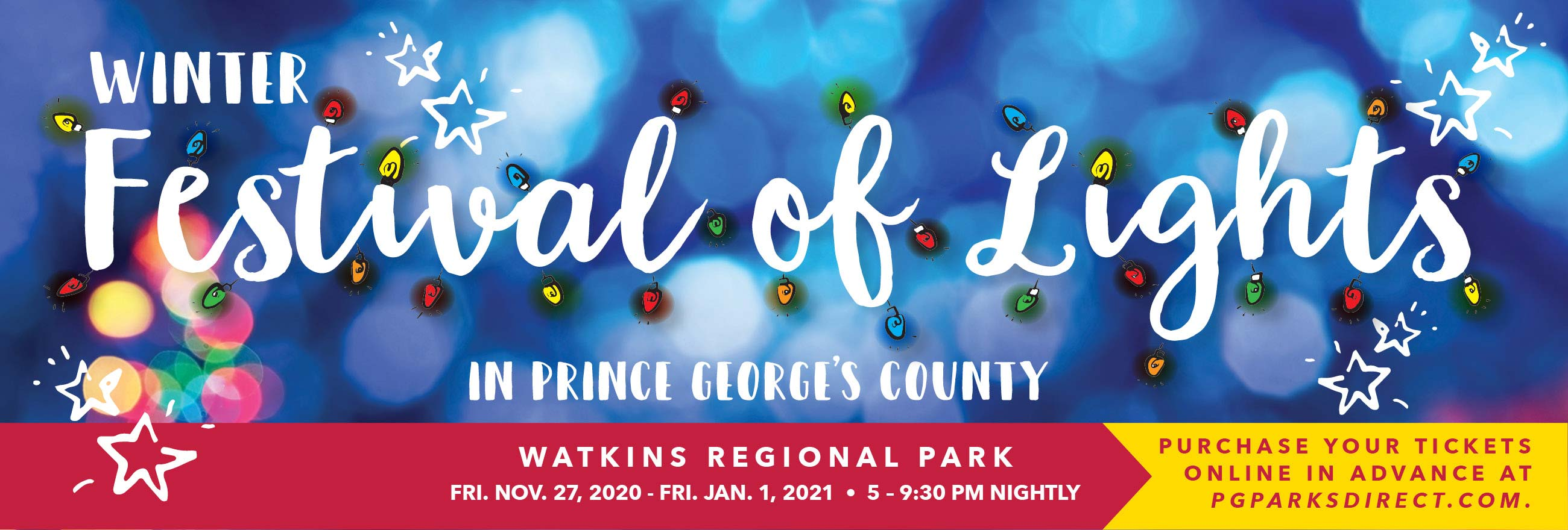 festival of lights at watkins regional park