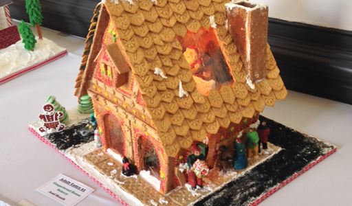 Gingerbread House Bakery by Ami Hazell - 1st Place